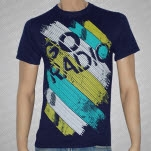Go Radio Lines Navy Blue T-Shirt