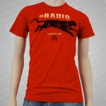 Go Radio Panther Red T-Shirt