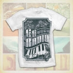 Go Radio Piano White T-Shirt
