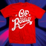 Go Radio Stars Logo Red T-Shirt