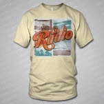 Go Radio Vintage Photo Natural T-Shirt