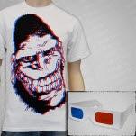 Gorilla Biscuits 3D Gorilla White T-Shirt