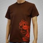 official Gorilla Biscuits Caveman Sideprint T-Shirt