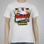 Gramps Morgan Reggae Music White T-Shirt