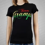 Gramps Morgan Team Gramps Black Girls T-Shirt