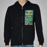 Grave Maker Face Black Hoodie Zip