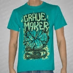 Grave Maker Pocket Watch Teal T-Shirt