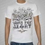 Guns For Glory Fire At Will White T-Shirt