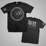 HELL Wheel Black T-Shirt