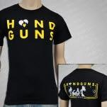 Handguns Heart Crowd Black T-Shirt