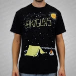 Handguns Starry Night Black T-Shirt