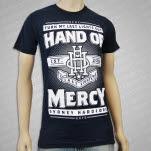 Hand Of Mercy Last Lights Navy T-Shirt