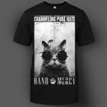 Hand Of Mercy Pure Cat Black T-Shirt