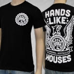 Hands Like Houses Eagle Black T-Shirt