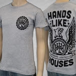 Hands Like Houses Eagle Heather Grey T-Shirt