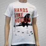 Hands Like Houses Ground Dweller Album White T-Shirt
