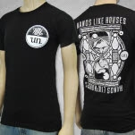 Hands Like Houses Hourglass Black T-Shirt