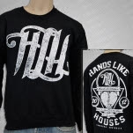 Hands Like Houses Impact Black Crewneck Sweatshirt