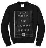 Hands Like Houses No Parallels Black Crewneck Sweatshirt
