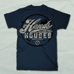 Hands Like Houses Pick Axe Navy T-Shirt