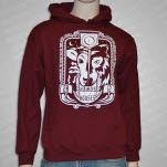 Hands Like Houses Wolf Maroon Pullover