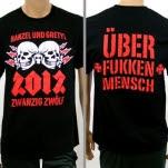 Hanzel Und Gretyl Double Skull Black T-Shirt