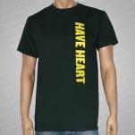 Have Heart Side Logo Green T-Shirt