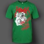 HAVOK Merry Christmas Green T-Shirt