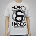 Hearts and Hands Choices White T-Shirt