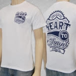 Heart To Heart Ruined White T-Shirt