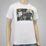 Heart To Heart Tropical White T-Shirt