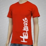 Hellberg Logo Red T-Shirt