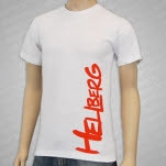 Hellberg Logo White T-Shirt