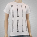 Hellberg Stacked White T-Shirt