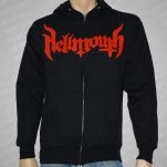 Hellmouth Gas Mask Black Hoodie Zip
