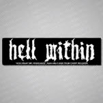 Hell Within Logo Sticker
