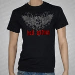 Hell Within Winged Skull Black T-Shirt