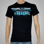 Here I Come Falling Eagle Black T-Shirt