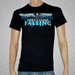 Here I Come Falling Eagle Black T-Shirt