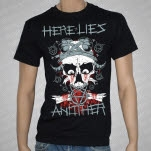 Here Lies Another Skull Black T-Shirt