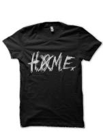 Heroes of Modern Earth HOME Logo Black T-Shirt