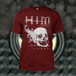 HIM Skull Maroon T-Shirt