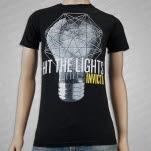 Hit The Lights Light Bulb Black T-Shirt