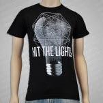 Hit The Lights Lightbulb Black T-Shirt