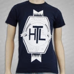 Hit The Lights Invicta Banner Navy T-Shirt