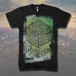 Honour Crest Maze Cube Black T-Shirt