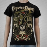 Hope For The Dying Armor Black T-Shirt