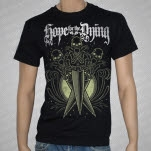 Hope For The Dying Bone Daggers Black T-Shirt
