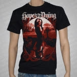 Hope For The Dying Dissimulation Black T-Shirt