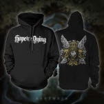 Hope For The Dying Wings Black Pullover